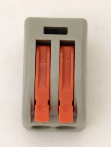 2, 3 y 5 cables Bloque conector fichas sin tornillo, cable electrico conexion