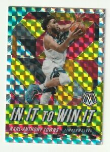 2019-20-Panini-Mosaic-Prizm-Silver-Karl-Anthony-Towns-In-It-to-Win-It-Hobby-SP