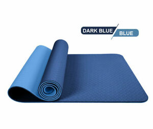 Multifunctional-double-yoga-mat-no-body-line-Dark-blue-blue