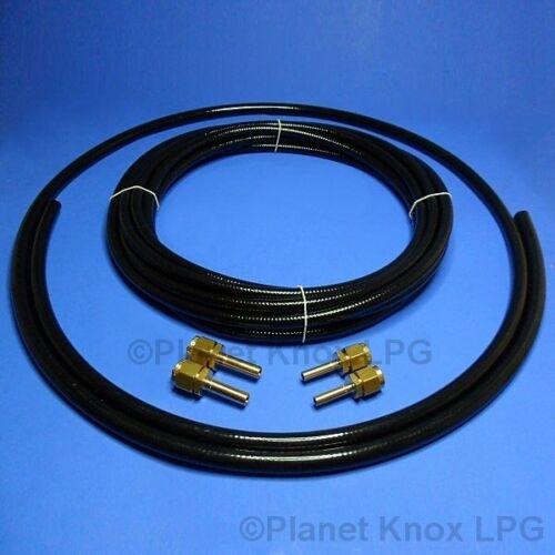 LPG Autogas 6m x 6mm /& 2m x 8mm Flexible Pipe kit,FARO Poly Pipe,Copper