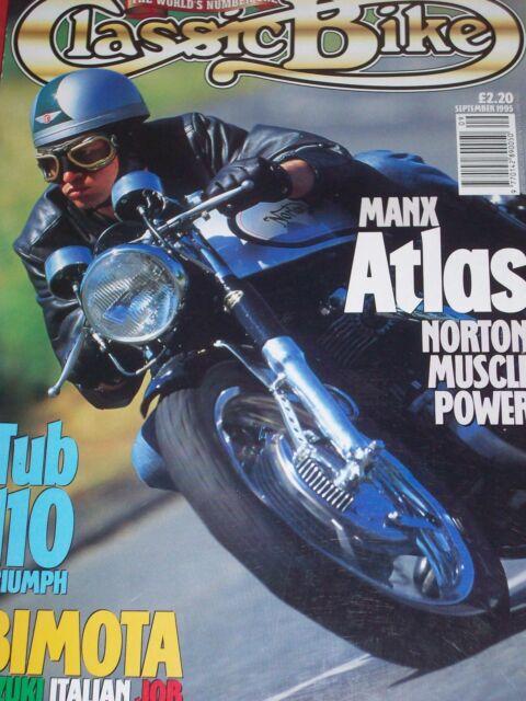 Classic Bike 09/95Bimota SB2, Manx Atlas, Moto-Morini,Triumph Tiger 110 & Bonnie
