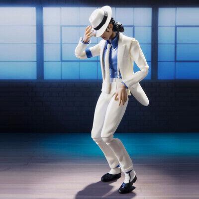 Michael Jackson Smooth Criminal Moonwalk 16cm Action Figure PVC Doll Toy Model