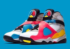 Details about Nike Air Jordan 8 Retro SP Retro SE White Multicolor Size 7. BQ7666-100