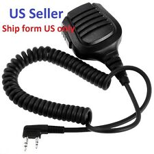 Best Handheld Speaker Mic for TYT MD-380 MD-390 3000A 8000SE Kenwood K US Seller