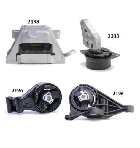 4 PCS MOTOR /& TRANS MOUNT FOR 2011-2016 Buick LaCrosse 3.6L 2WD Auto Trans.