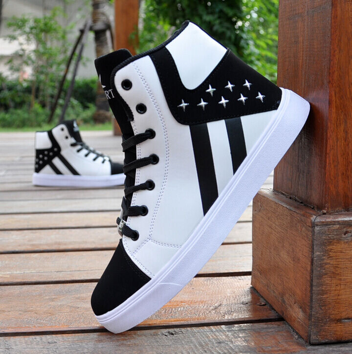New Men's Sneakers Casual High Top Sport Sneakers Men's Athletic Running Shoes Hip-hop shoes 7e7c3a