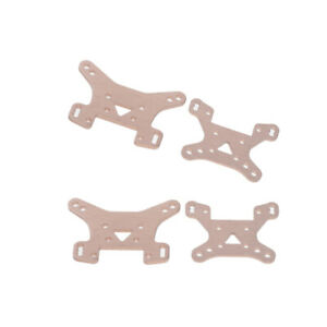 144001-1302 Front Car RC Rear 1//14 2pc Shock Tower for Wltoys Holder Upgrade