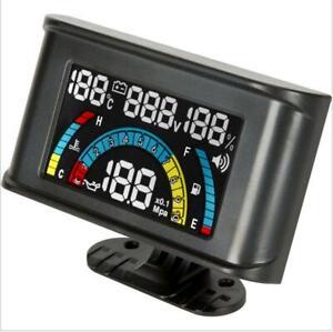 4-in-1-Car-Oil-Pressure-Gauge-Voltmeter-Water-Temp-Gauge-Oil-Fuel-Gauge-w-Alarm