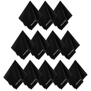 deleyCON-12x-Brillenputztuch-Brillen-Putztuch-Mikrofaser-Brillentuch-Optikertuch