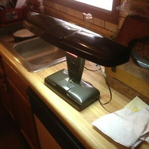 Vintage-Marks-Deluxe-Metal-Desk-Lamp-Art-Deco-Mid-Century-Industrial-Light
