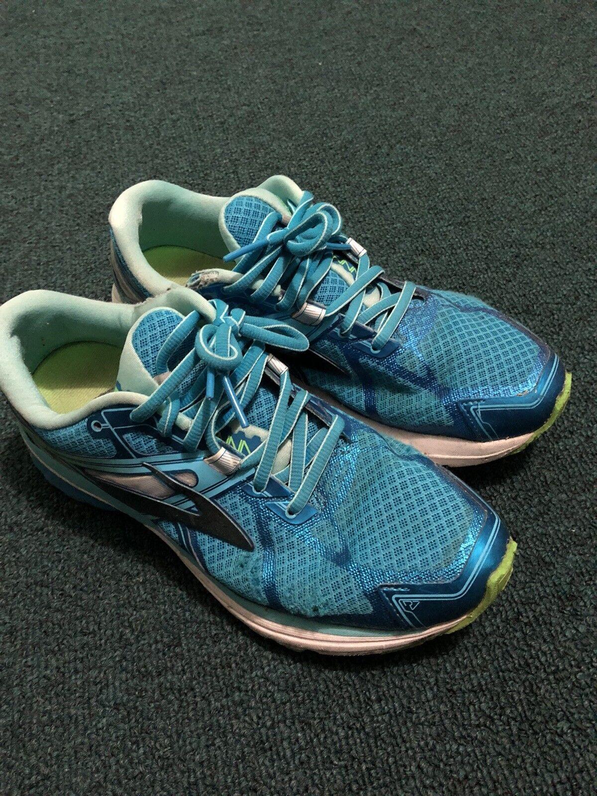 ASICS Women's GEL-Exalt Trail Running Athletic shoes US 9 Green-bluee Aqua