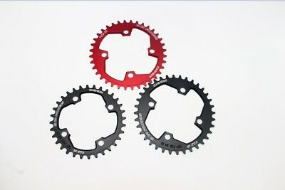BCD104 Oval chainring Narrow Wide 1X System for Shimano Sram Fouriers