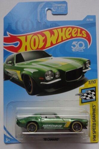 2018 Hot Wheels HW SPEED GRAPHICS 7/10 '70 Camaro 28/365