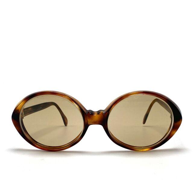 Vintage Selecta Tortoise Round Prescription Sunglasses Frame France 53-17-135mm