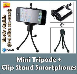 Soporte-para-movil-Samsung-LG-Sony-Xperia-Tripode-para-Smartphone-Universal