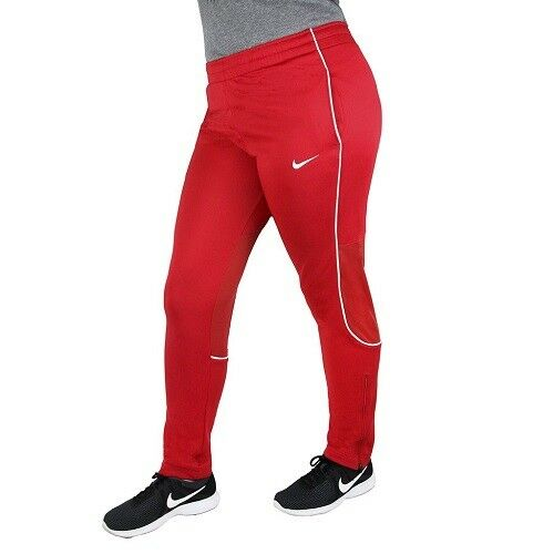 Nike Women's Classic Knit Pant Scarlet RedWhite 100% Polyester New Brand