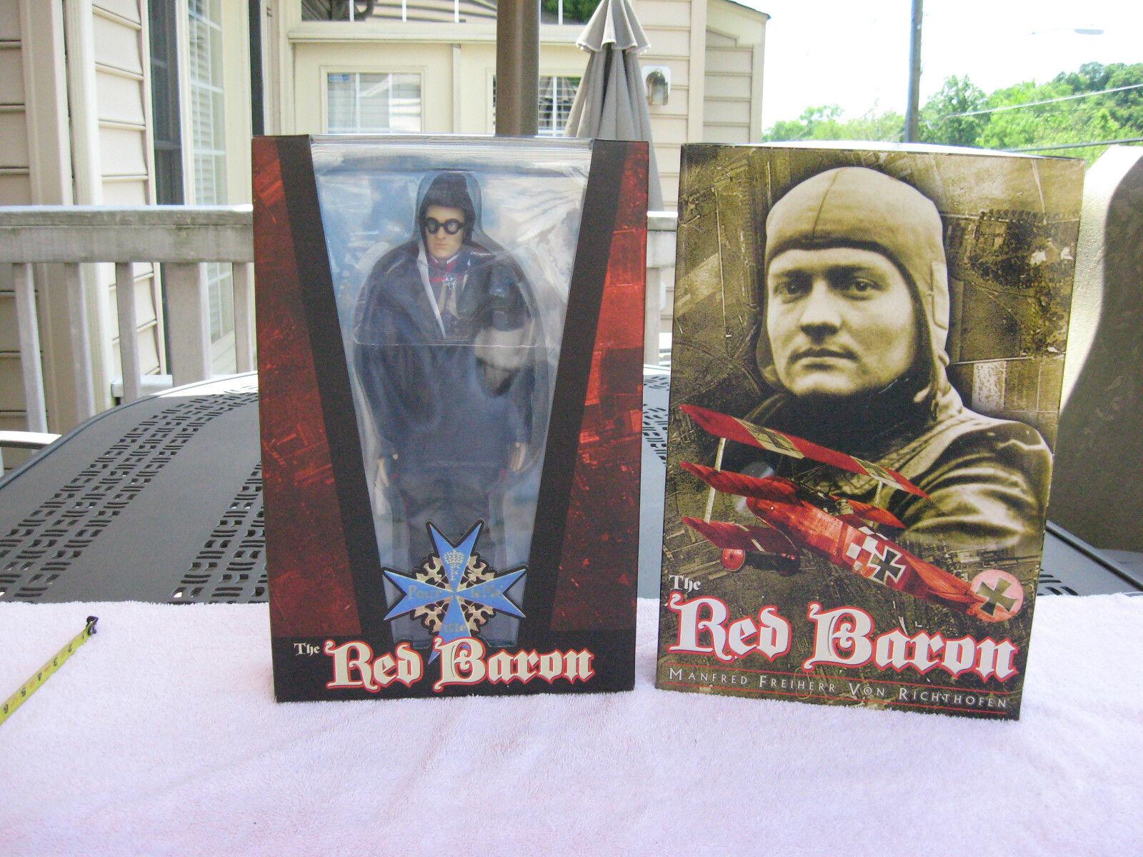 The Red Baron Manfred Freiherr Von Richthofen 12  Figure By Blitzkrieg Toyz