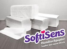 6.400 Blatt Handtuchpapier, Papierhandtücher 2-lagig, 24x22cm weiß