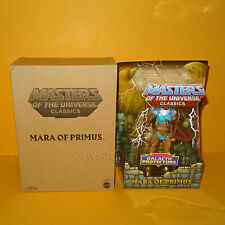 2014 MATTEL MOTU HE-MAN MASTERS OF THE UNIVERSE CLASSICS MARA OF PRIMUS MOC BOX