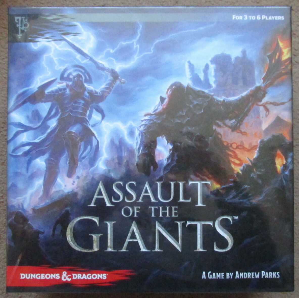 ASSAULT OF THE GIANTS 5E DUNGEONS DRAGONS BOXED NEW NEW NEW SEALED SW MINT BOARDGAME 84ad9e