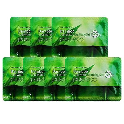 [TONYMOLY] Pure Eco Bamboo Cool Water Soothing Gel Sample 7pcs / Korea Cosmetic