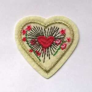 GUCCI-Heart-PATCH-Iron-On-Fashionista-Brand-New