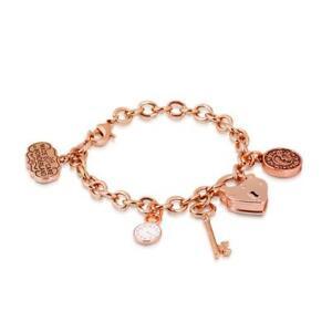 Disney-Couture-Sale-Alice-in-Wonderland-Key-Bracelet-RG-Plated-RRP-99-DRB0347