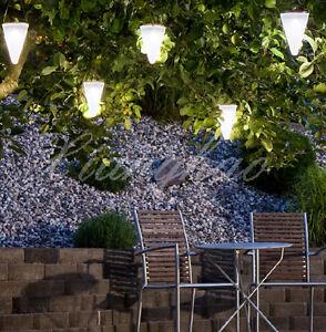 led solar lichterkette aussen lichter solarlampe beleuchtung garten deko 2 farbe ebay. Black Bedroom Furniture Sets. Home Design Ideas