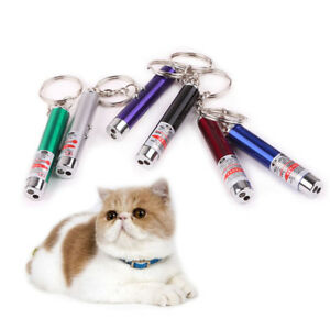 1-2X-Funny-Cat-Pet-Toy-LED-Laser-Lazer-Pointer-Pen-Light-5COLOR-CHINESE-SELLER