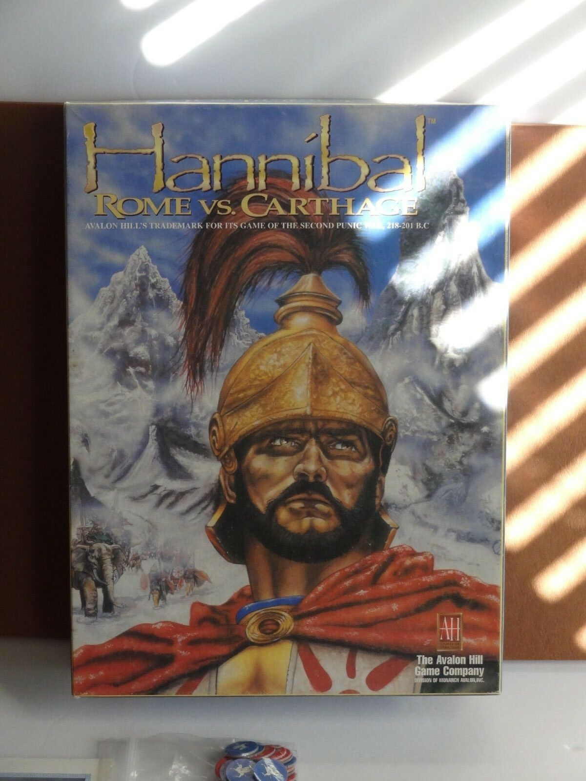 Hannibal rom gegen karthago avalon hill 1996