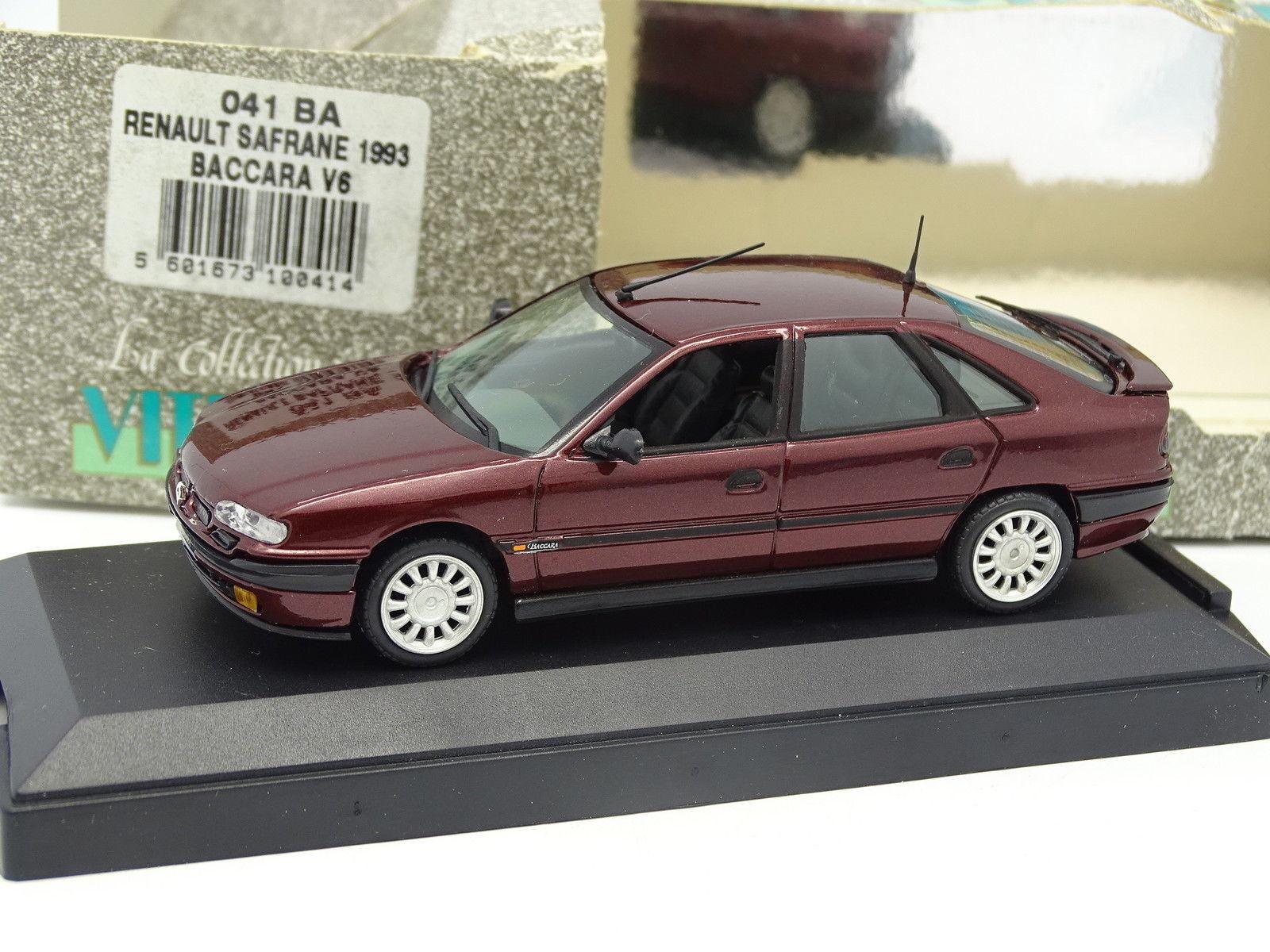Velocidad 1 43 - Renault Safrane 1996 V6 Baccara Rojo