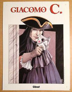 edition-limite-Plaque-emaillee-GLENAT-Giacomo-C