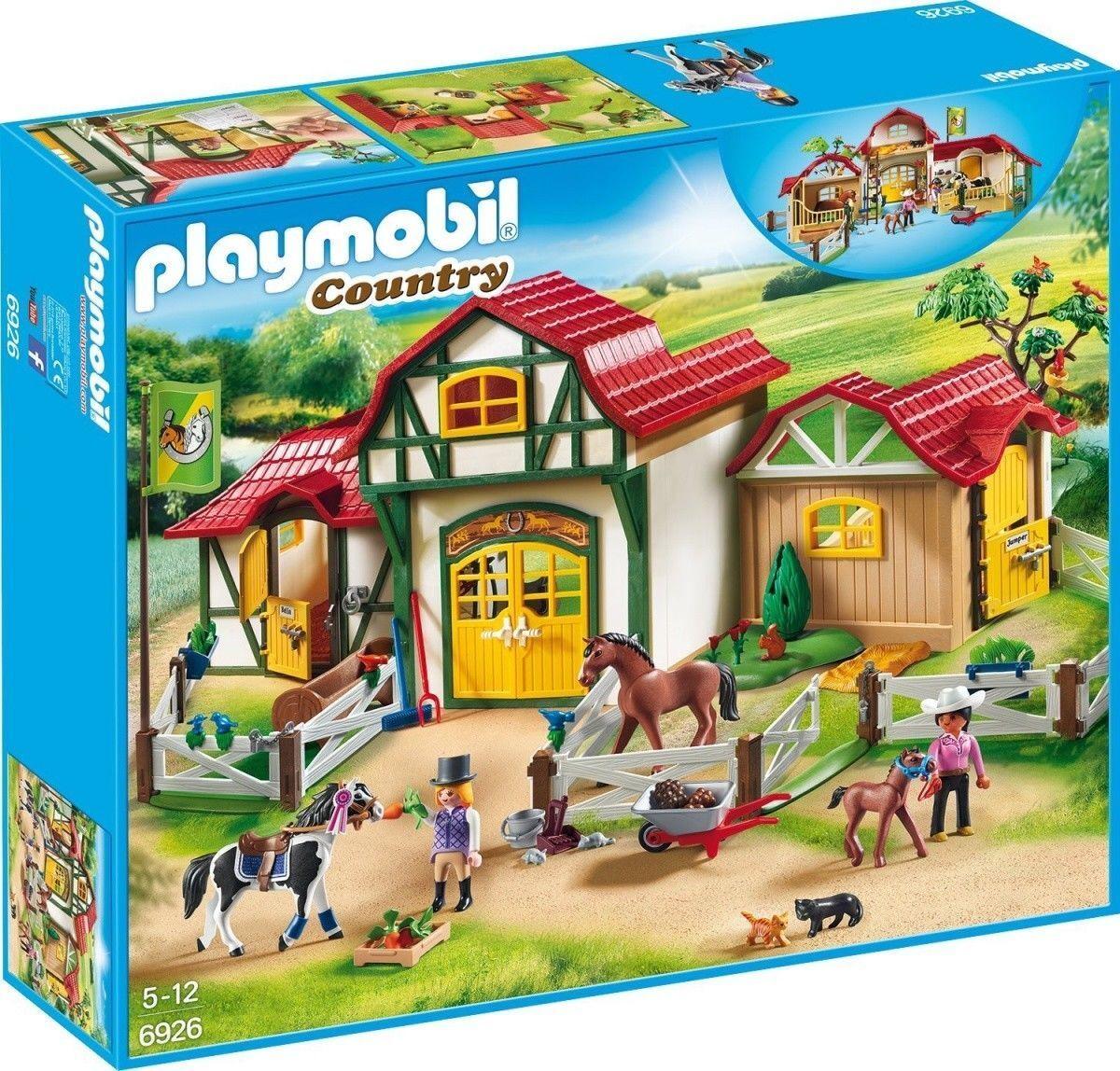 PLAYMOBIL Country 6926-grande reiterhof NUOVO OVP