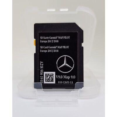 MAP PILOT Mercedes GARMIN SD CARD SAT NAV A B CLA A2189061903 V9! 2018!
