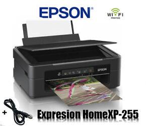 EPSON XP-255 MULTIFUNKTIONS DRUCKER SCANNER KOPIERER WLAN * NEU *