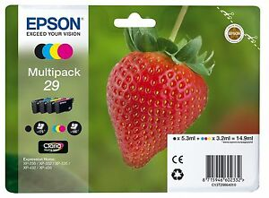 Epson XP-255 XP-257 XP-352 Genuine Ink Cartridges Multipack