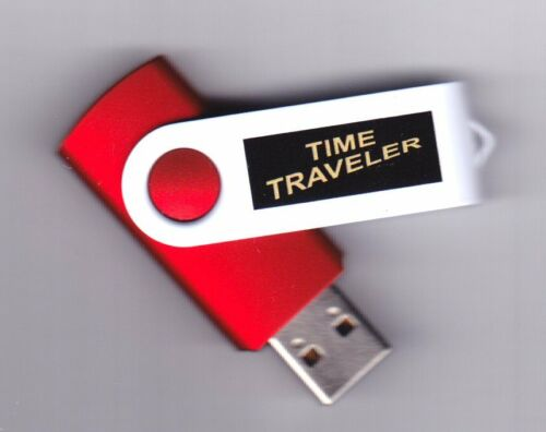 Time Traveler USB flash drive with over 10,000 HQ old time radio programs OTR