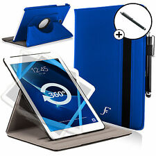 Leather Blue Rotating Smart Case Cover Samsung Galaxy Tab A 10.1 SM-T580 Stylus