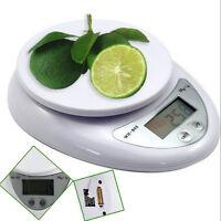 (0.01oz-176oz) Digital Kitchen Food Diet Postal Scale Electronic Weight Balance