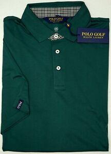 NWT-98-Polo-Golf-Ralph-Lauren-Green-Short-Sleeve-Shirt-Mens-L-XXL-Wicking-NEW