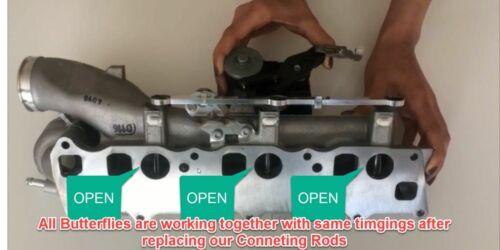 Mercedes Intake Manifold Runner Connecting Rod Sensor Diesel 3.0L V6 Kit OM642