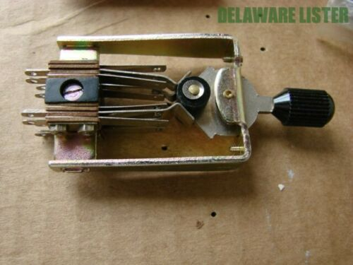 Vintage LEAF Style Lever Toggle Switch ON-OFF-ON 3-Position Locking NOS New
