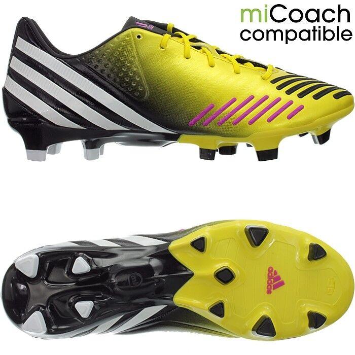 Adidas Projoator LZ TRX FG para hombre Professional Botines De Fútbol Amarillo blancoo Negro