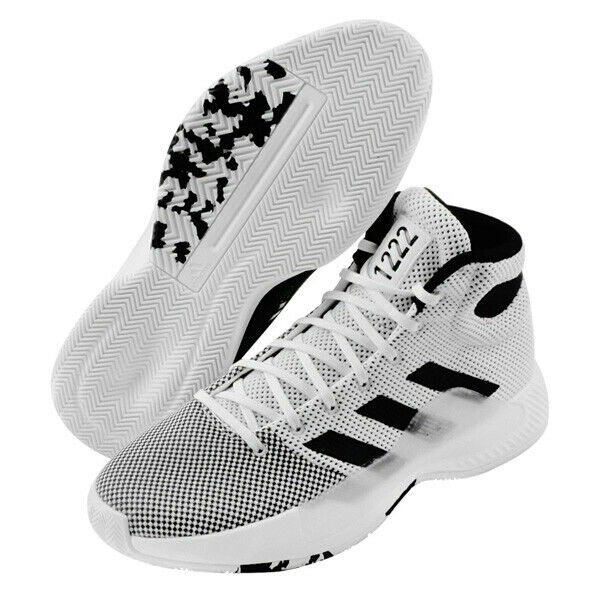 Adidas Pro Bounce Madness 2019 Men's Basketball shoes NBA Casual White BB9235