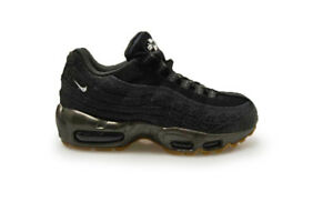 factory outlets best online newest collection Détails sur Femmes Nike Air Max 95 Prm - 807443 002 - Métallique Noir  Baskets Blanc