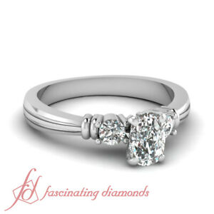 Wedding Ring On Sale.Details About 90 Ct Cushion Cut Si2 Diamond Engagement Rings On Sale For Women 14k Gold Gia