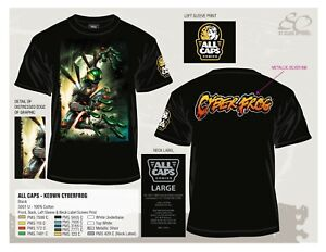New!  CYBERFROG T-Shirt with DALE KEOWN Art!