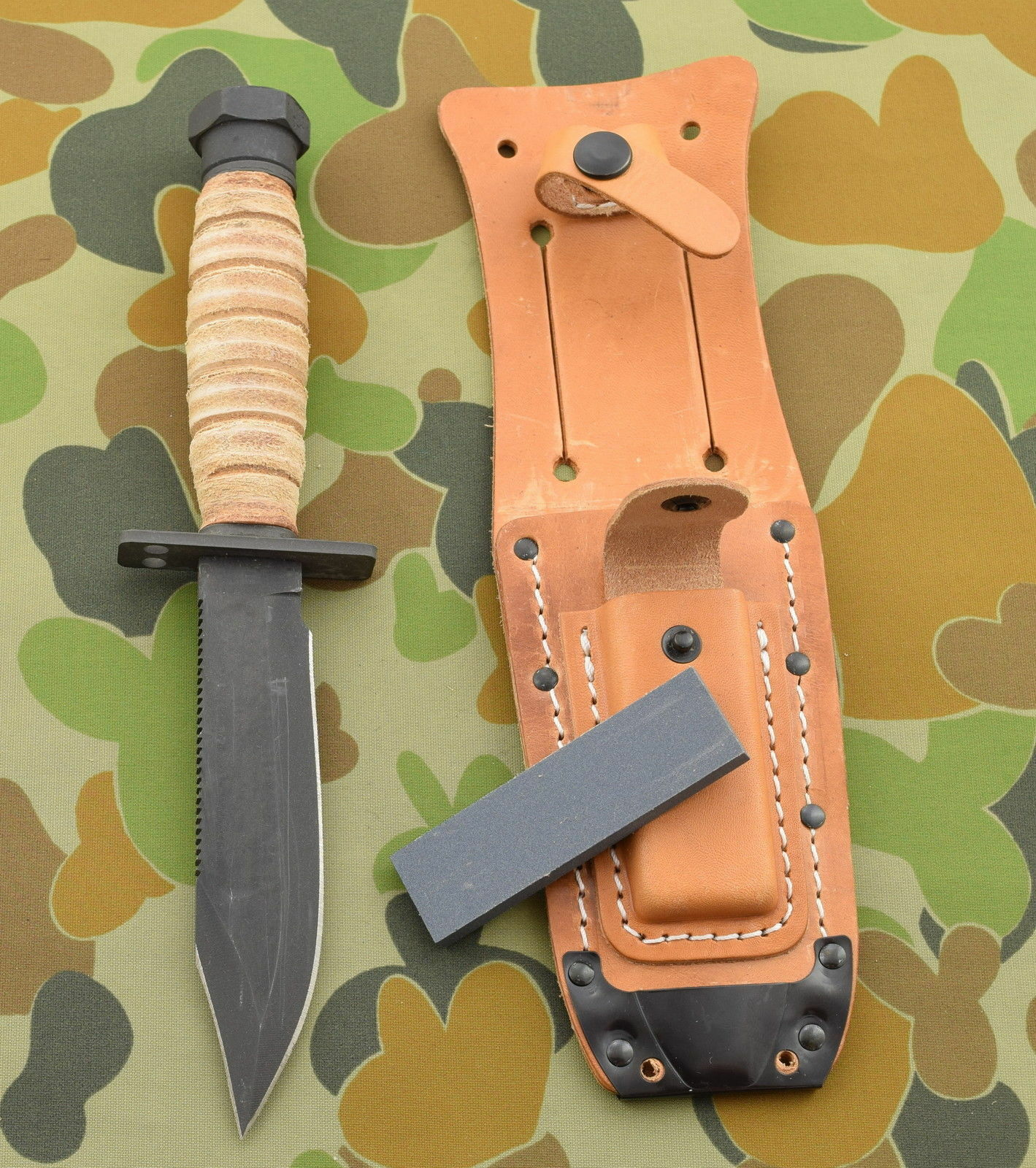 ON499 Ontario Messer Tactical Ontario ON499 Air Force Survival 1095 Carbon Blade Made In USA 81a3c0