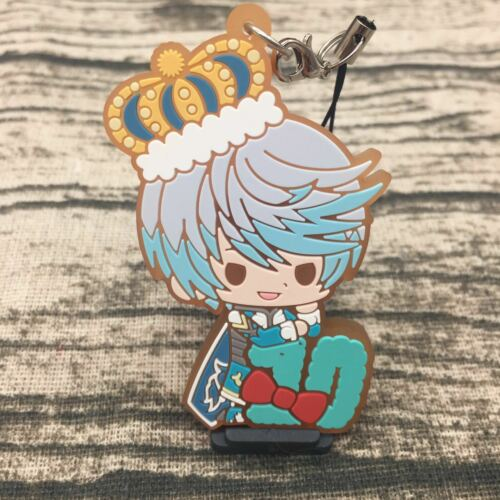 T261 Anime 10 Year Tales of Zestiria Mikleo Sorey Rubber Keychain Key Ring Rare