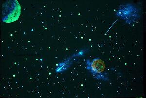 Sensory Glow in the Dark Star Ceiling Painting Kit  DIY Bedroom, Chill room